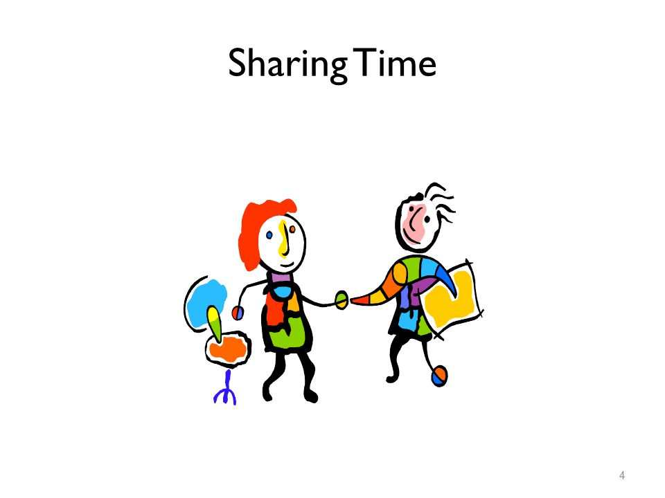 Sharing Time 4