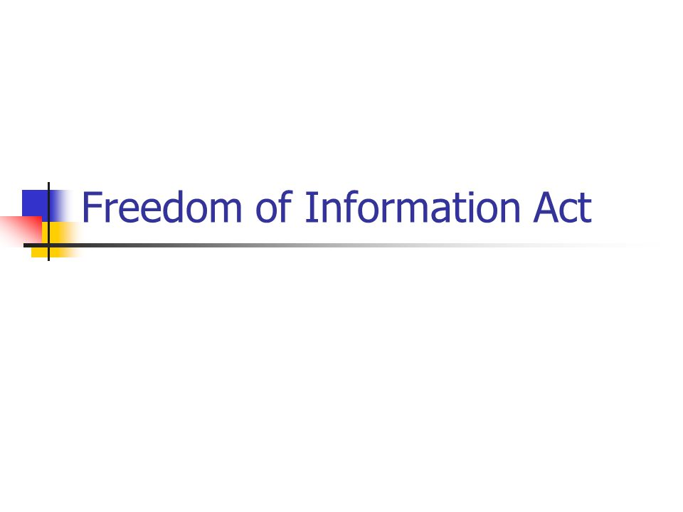 Which Act Applies.Do FOIA and the Privacy Act overlap.
