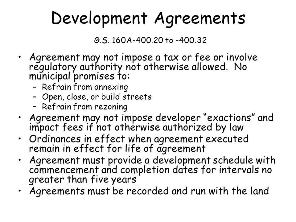 Agreement may not impose a tax or fee or involve regulatory authority not otherwise allowed.