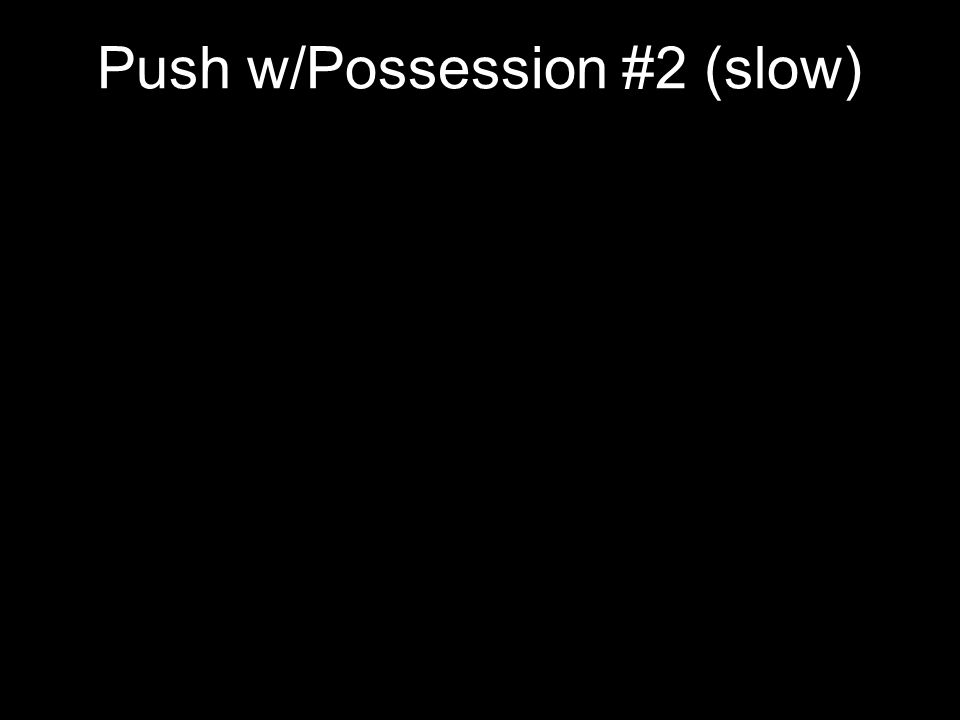 Push w/Possession #2 (slow)