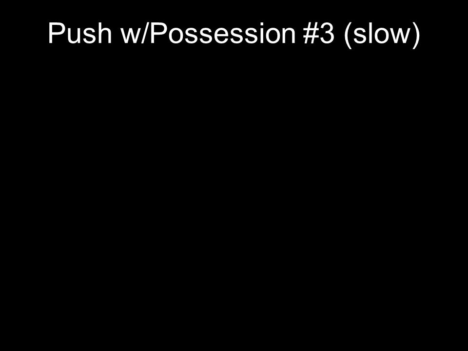 Push w/Possession #3 (slow)
