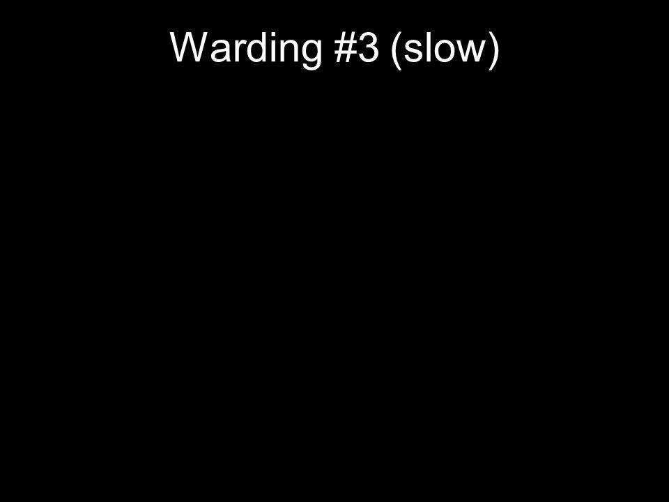 Warding #3 (slow)
