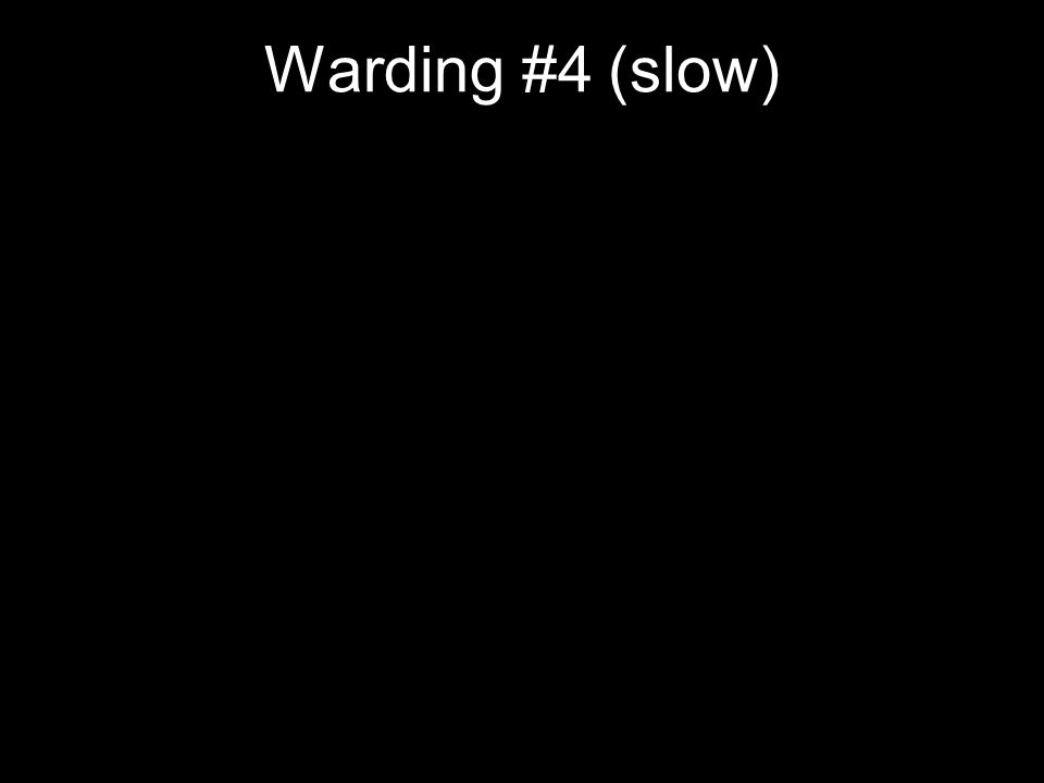 Warding #4 (slow)