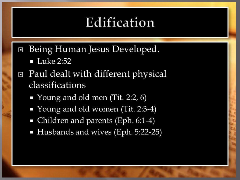  Being Human Jesus Developed.