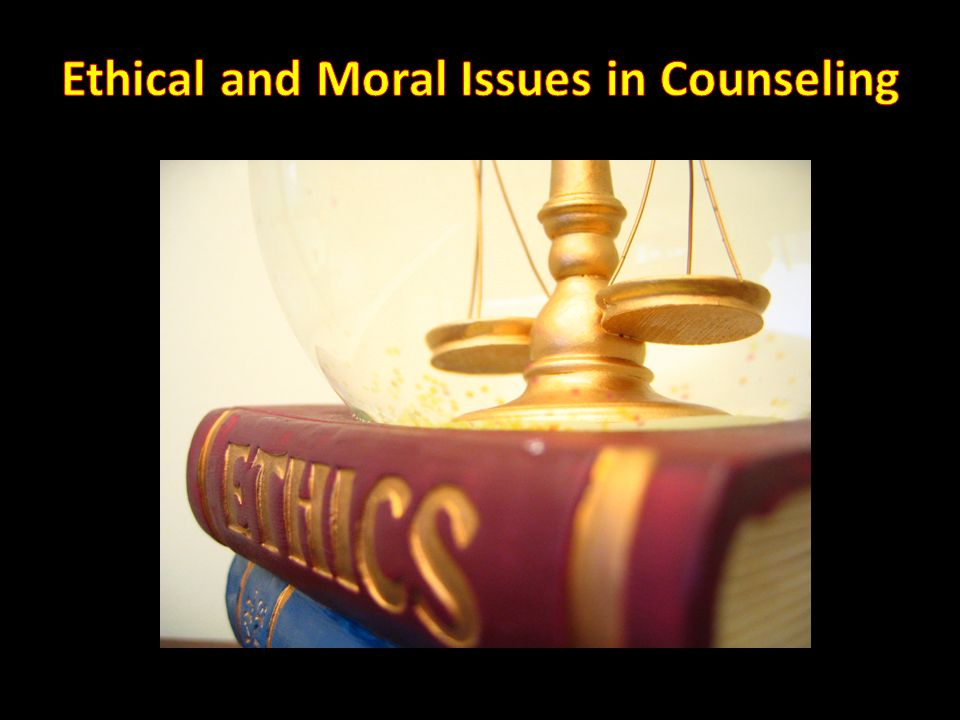 Morals: Personal belief system that affects your interactions with others in all aspects of your life.
