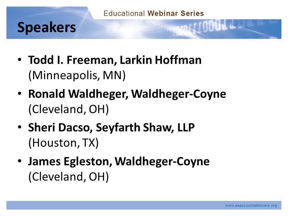Speakers Todd I.