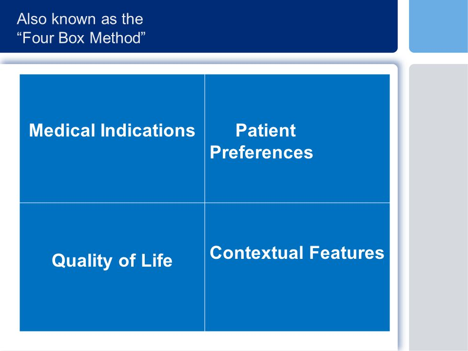 Medical Indications and the Goals of Medicine What is the diagnosis.