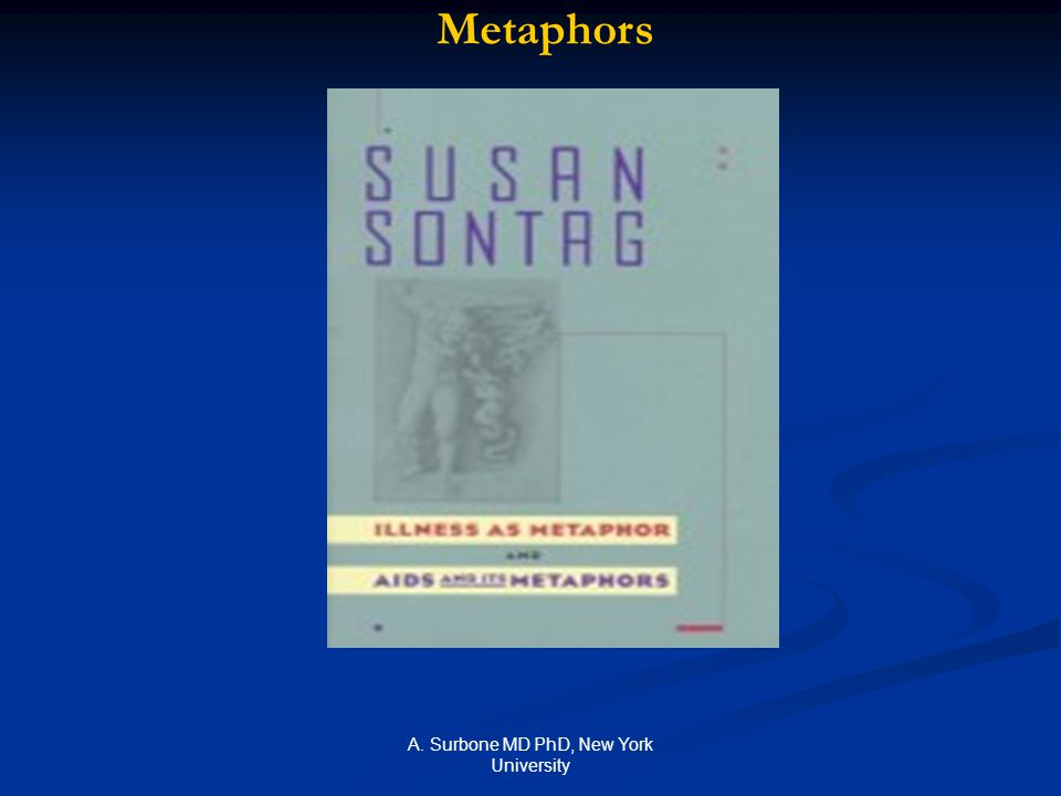 A. Surbone MD PhD, New York University Metaphors
