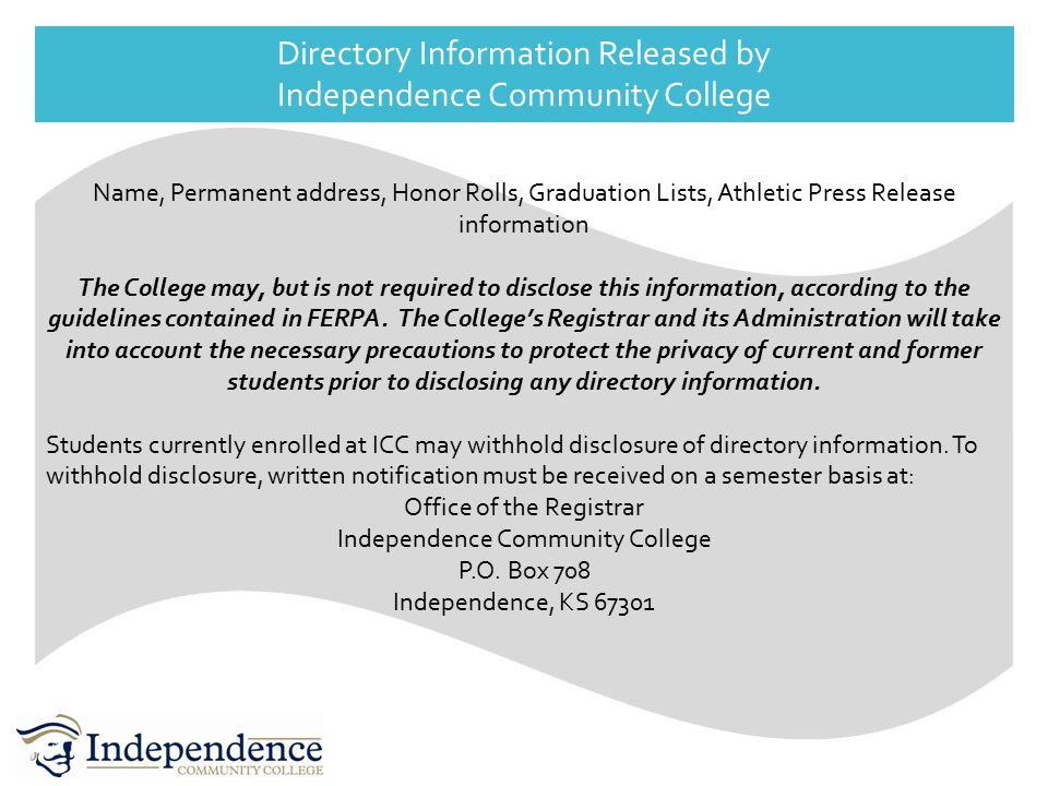 What is Legitimate Educational Interest.