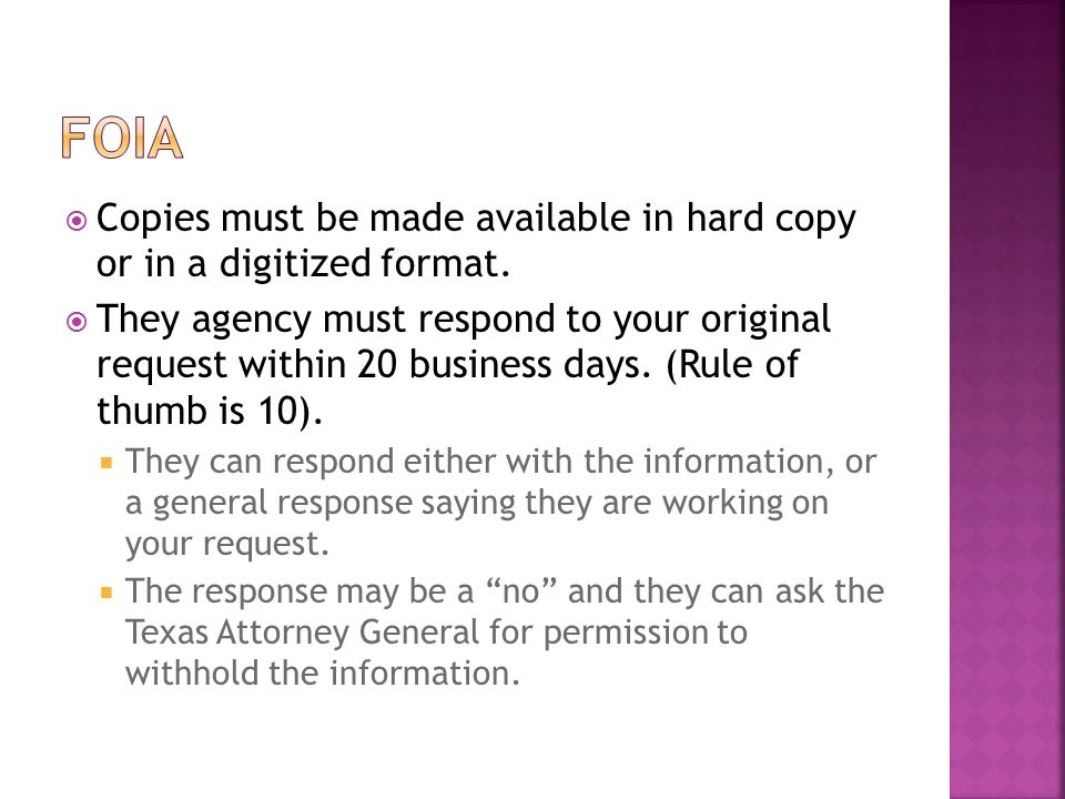  Copies must be made available in hard copy or in a digitized format.