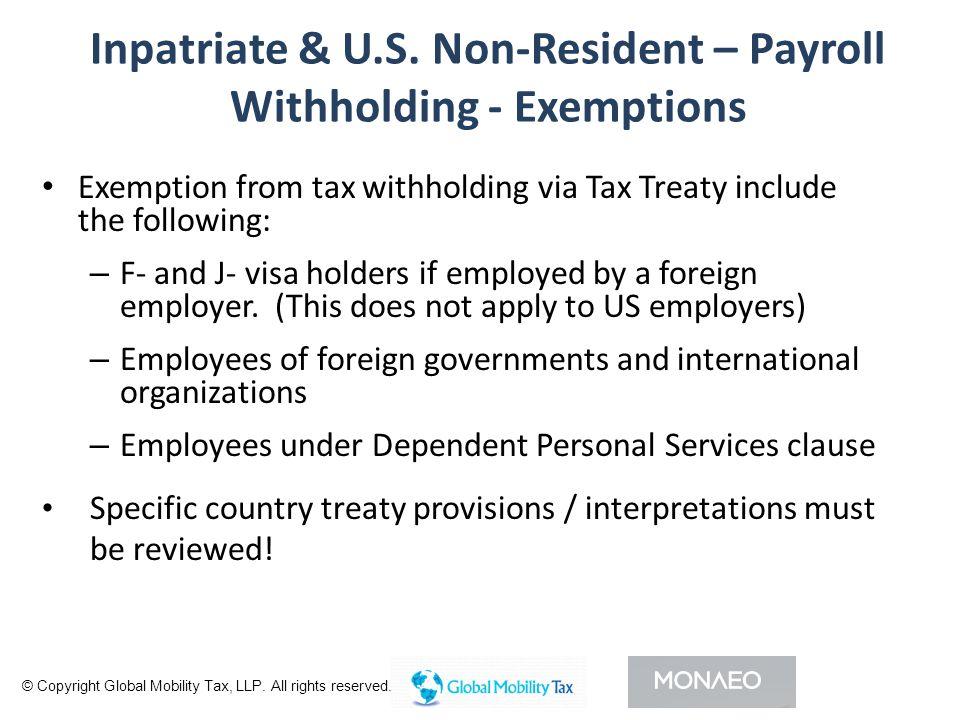 Inpatriate & U.S.