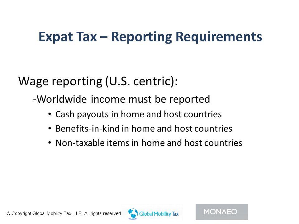 I DENTIFY S TAKEHOLDERS - Tax – domestic, international.