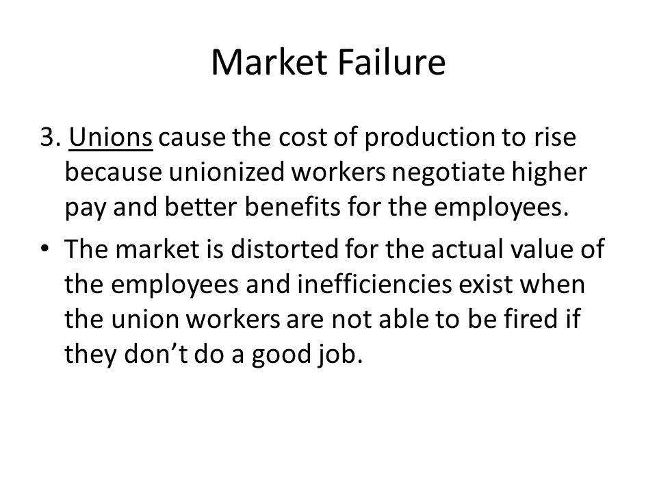 Market Failure 3.