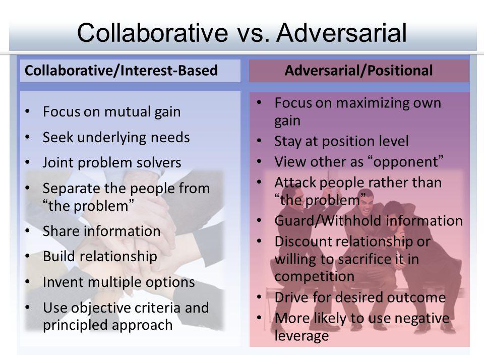 Collaborative vs.