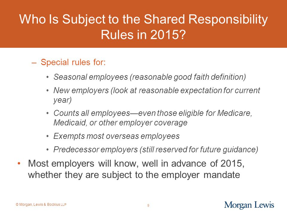 © Morgan, Lewis & Bockius LLP New Developments in Payroll Tax Controversies: Traveling Employees Crossing U.S.