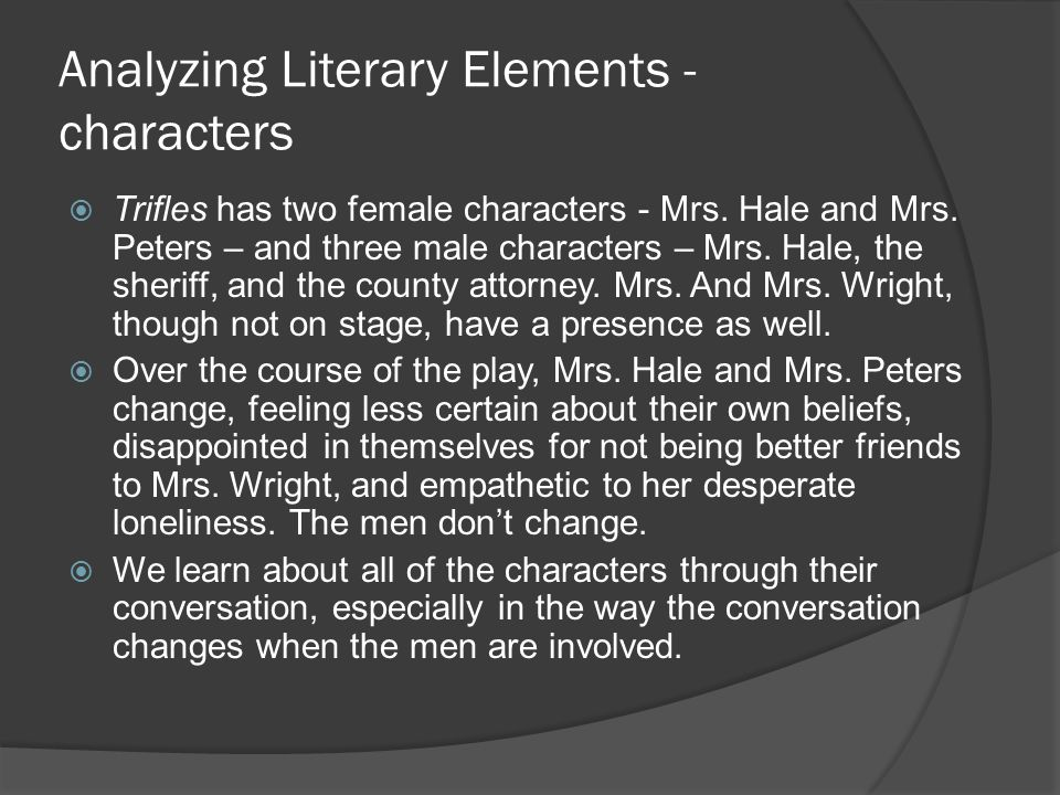 Compare to the revised:  Identifying with Mrs.