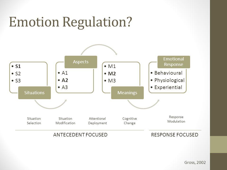 Emotion Regulation.