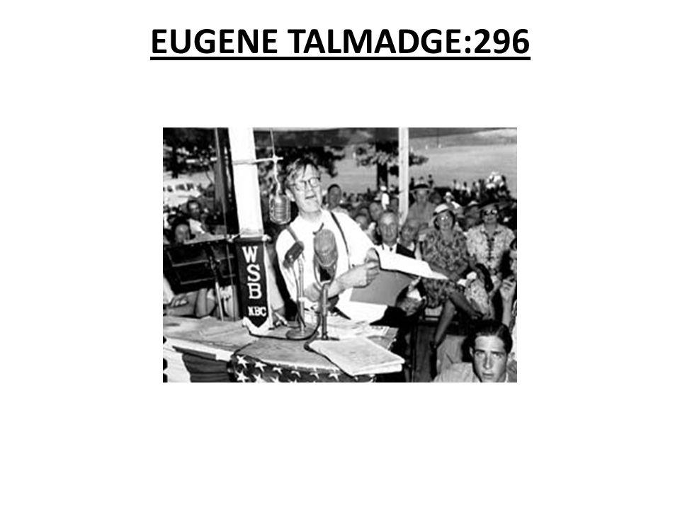 EUGENE TALMADGE:296