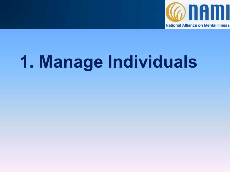 Managing Records in NAMI 360 Each record contains one individual's basic information, including: Phone and/or Fax Numbers Leadership Role with NAMI Office Name Relationship with Other Records Demographic Information (optional) Email Address* Address All NAMI 360 records are individual records.
