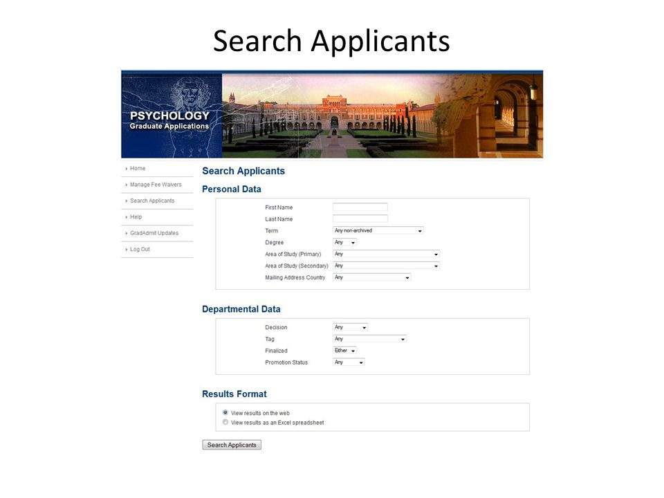 Application: Supporting Documents