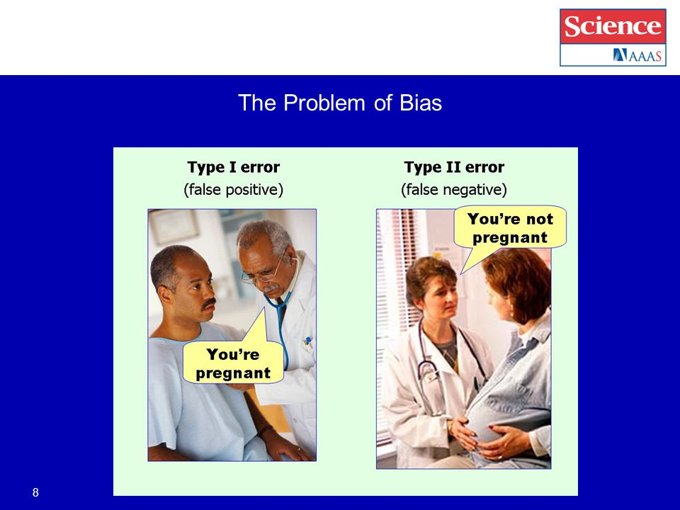 The Problem of Bias 8