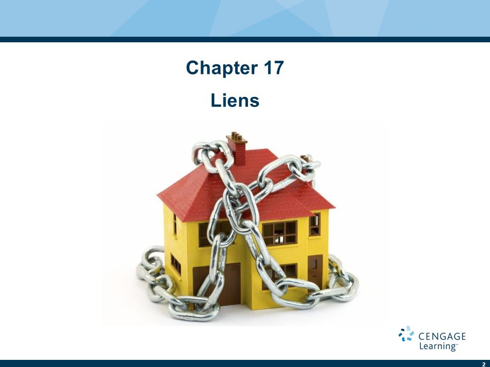 2 Chapter 17 Liens