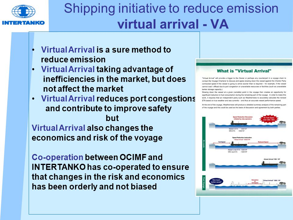 1.A known delay in discharge port 2.A mutual agreement between the ship operator and charterer to perform a Virtual Arrival voyage.