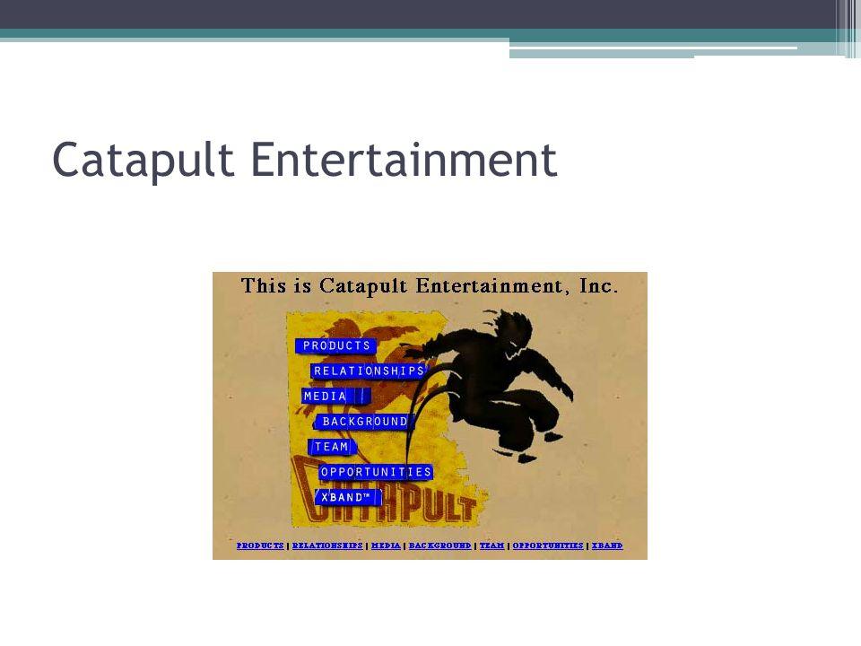 Catapult Entertainment