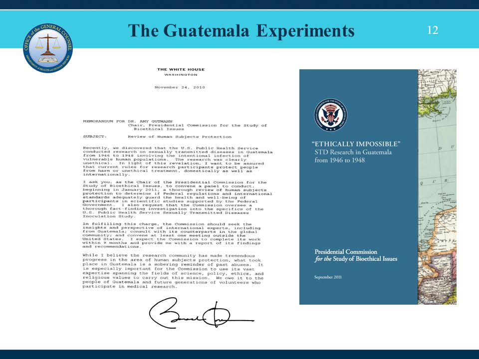 12 The Guatemala Experiments