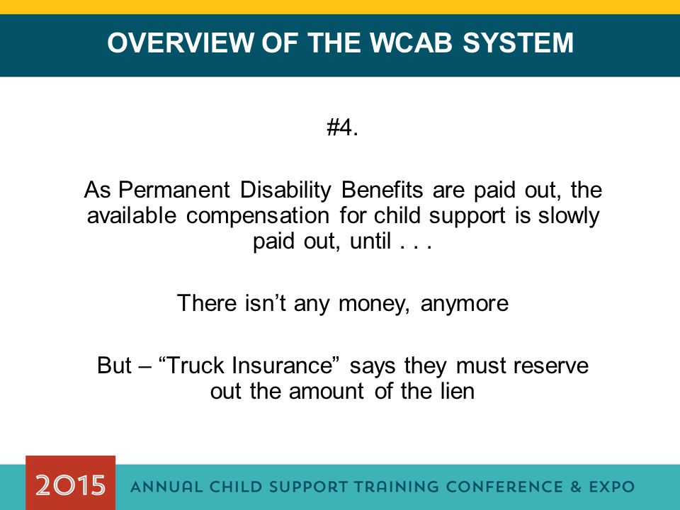 OVERVIEW OF THE WCAB SYSTEM #4.