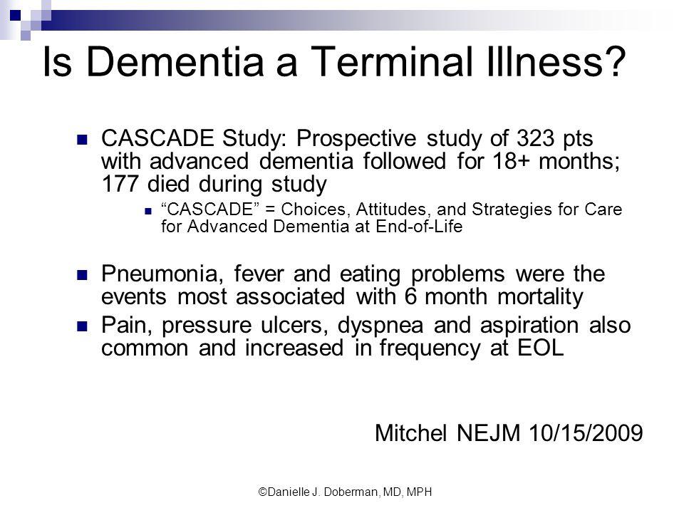 Is Dementia a Terminal Illness.
