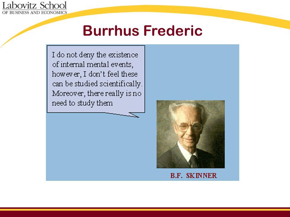 Burrhus Frederic