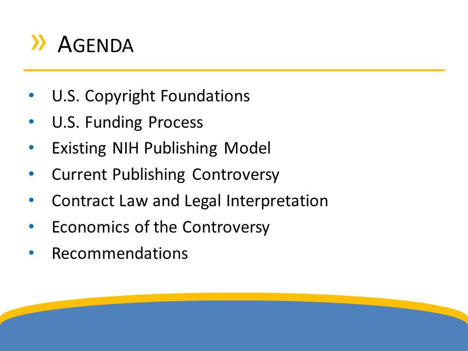 » A GENDA U.S. Copyright Foundations U.S.