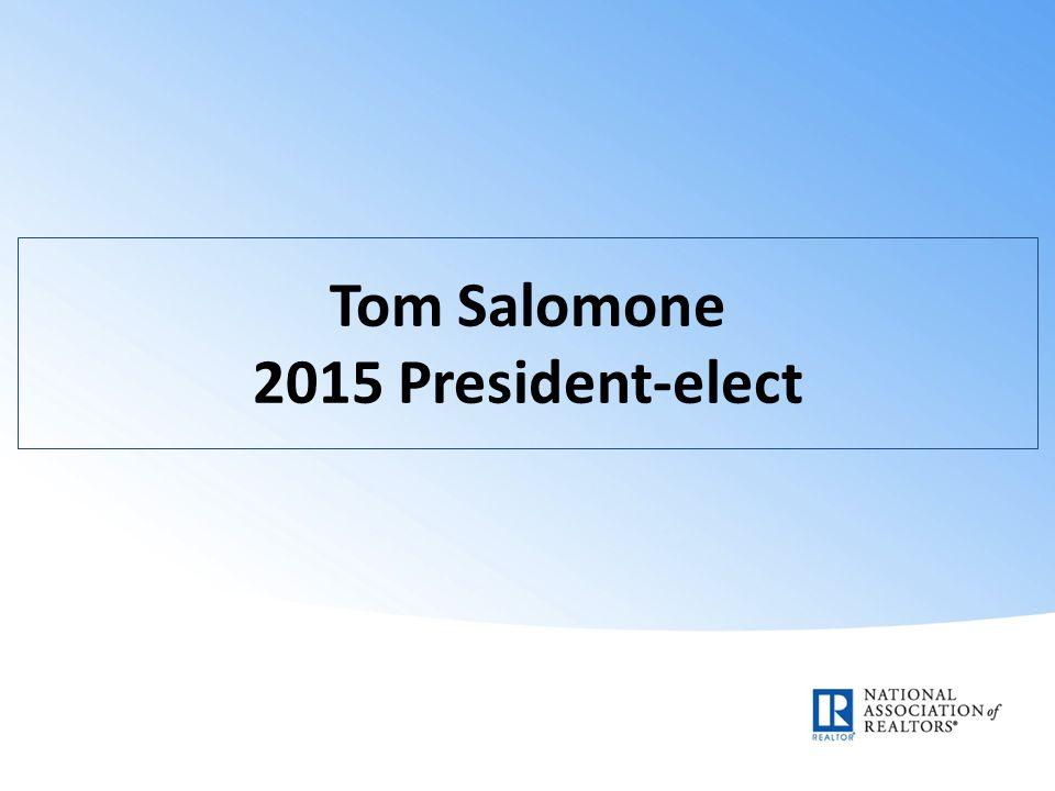 Tom Salomone 2015 President-elect
