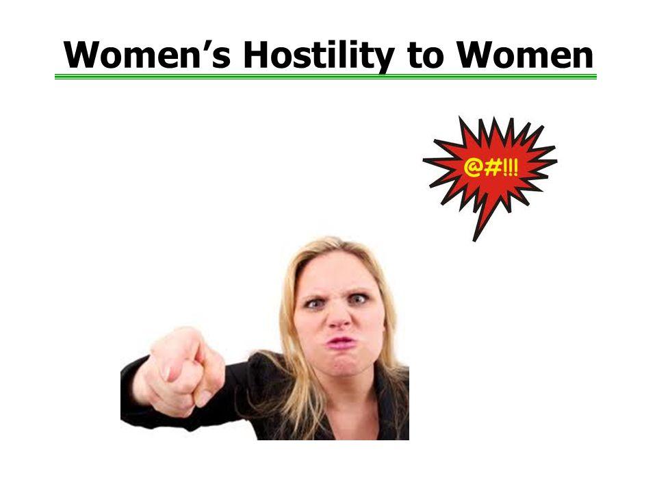Women's Hostility to Women
