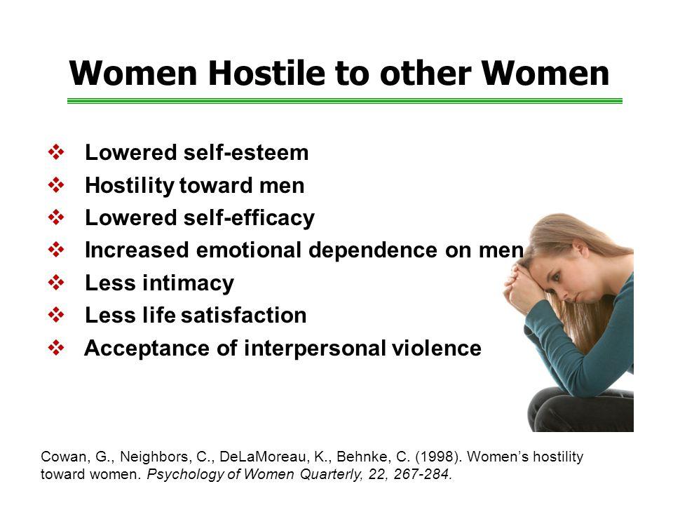 Women Hostile to other Women Cowan, G., Neighbors, C., DeLaMoreau, K., Behnke, C.