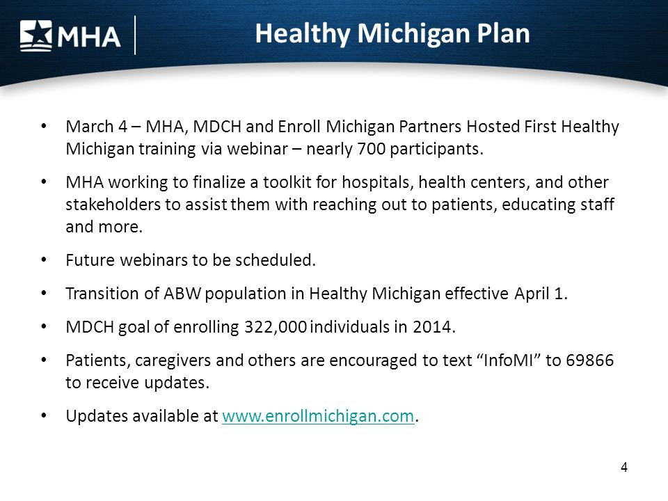 Healthy Michigan Law takes effect March 14.Waiver approved by CMS Dec.
