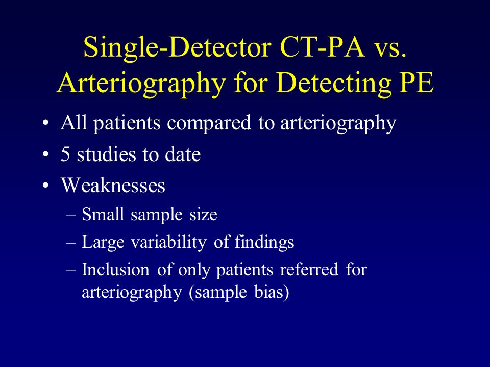 Single-Detector CT-PA vs.