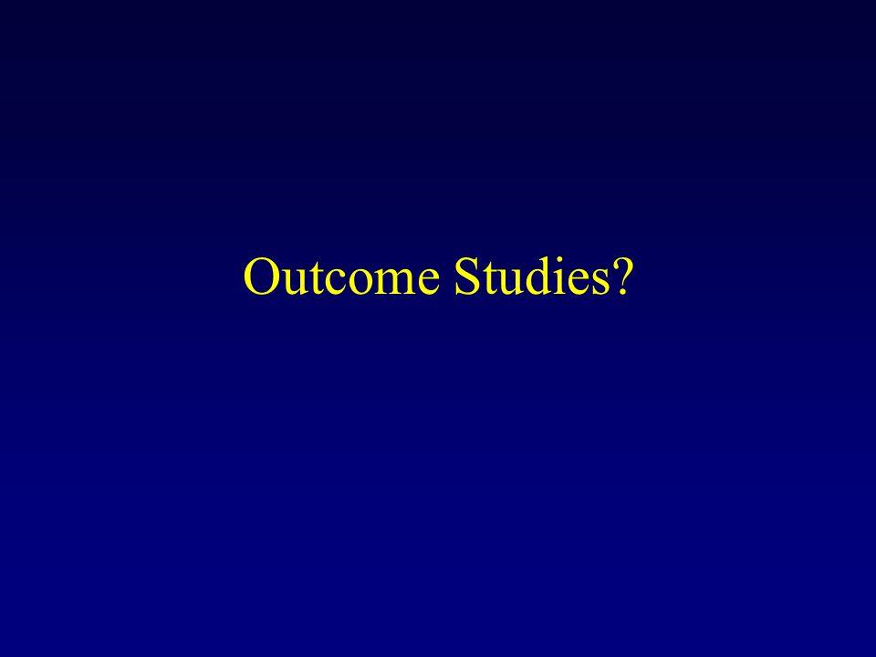 Outcome Studies