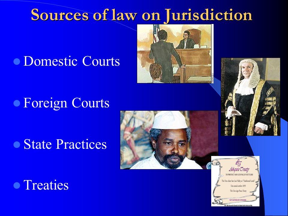 Types of Jurisdiction Territorial Jurisdiction Personal Jurisdiction Universal Jurisdiction