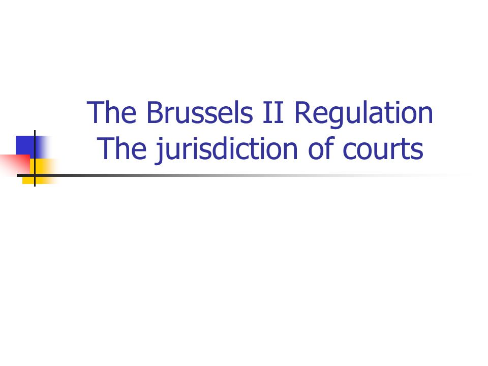 The Brussels II Regulation – recognition of the judgment The reasons for declination of the recognition of the judgment are divided according to two areas of application (matrimonial matters and matters of parental responsibility).
