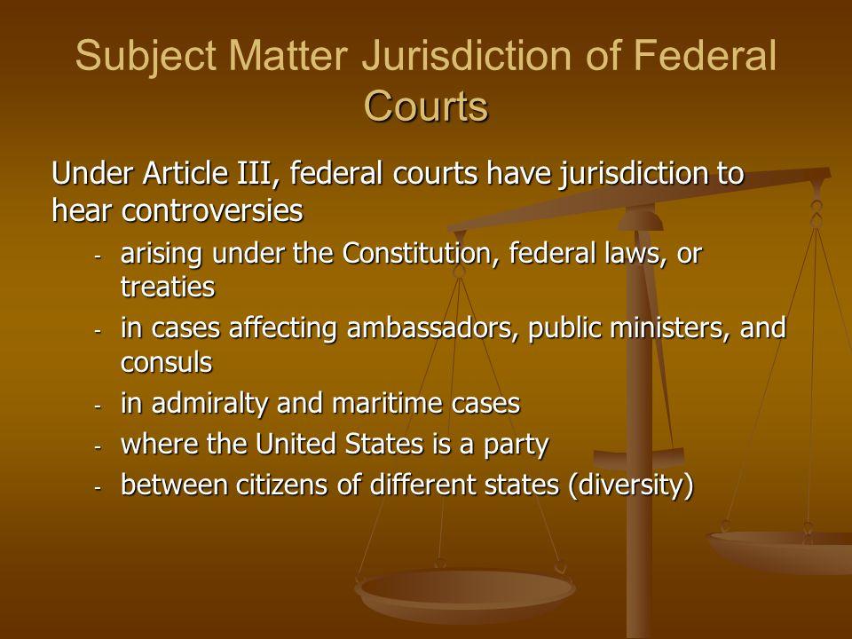 Jurisdiction of the U.S.Supreme Court Original Jurisdiction (28 U.S.C.