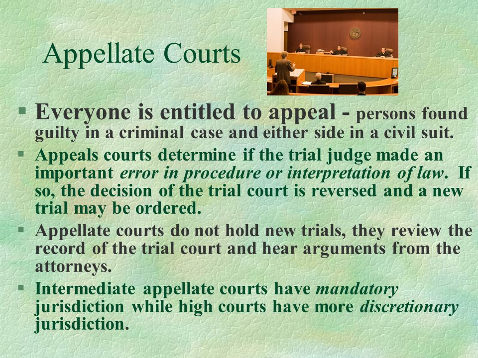 United States Federal Court System