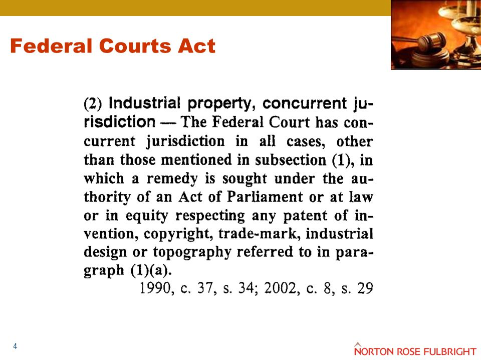 4 Federal Courts Act