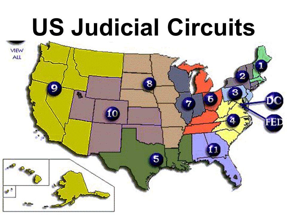US Judicial Circuits