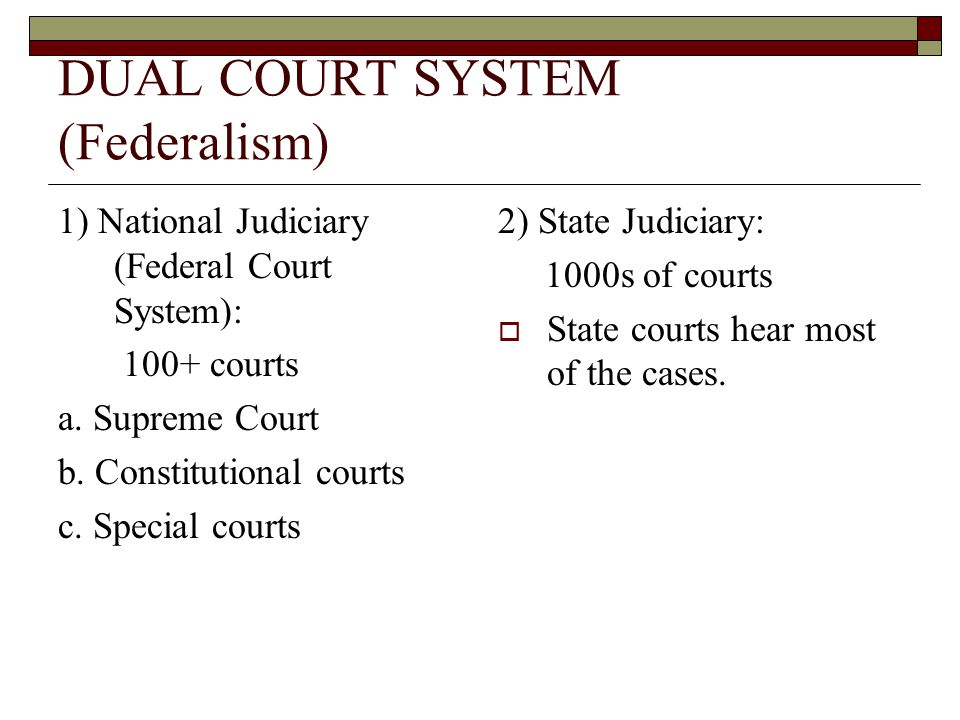 Appellate Court Jurisdiction  Hear cases on appeals from lower fed.