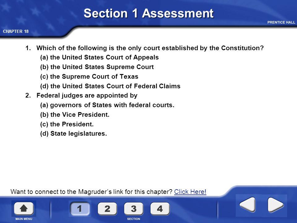 CHAPTER 18 Supreme Court Jurisdiction The Supreme Court has both original and appellate jurisdiction.