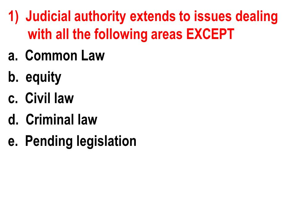 5) Which of the following committees is responsible for reviewing Supreme Court nominees.