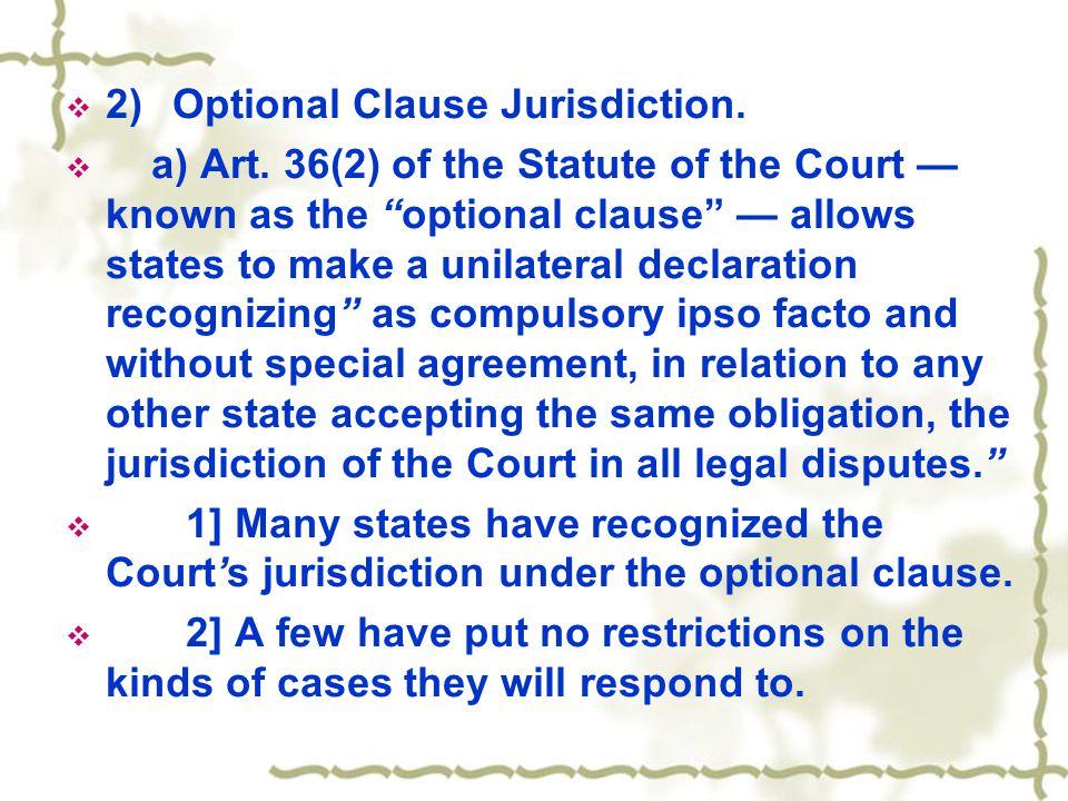  b)Dispute Settlement Panel.