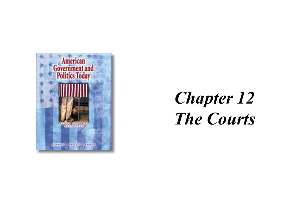 Chapter 12 The Courts